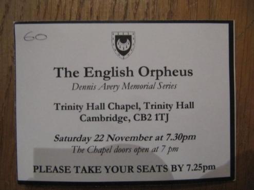 Trinity Hall Concert (3)