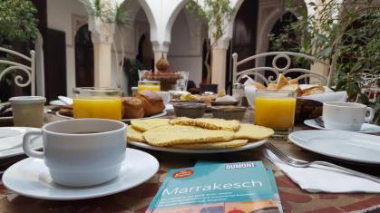 Riad Nasreen: Frühstück/breakfast