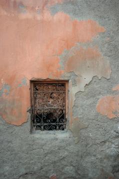 Ein Fenster in der Derb Zemrane