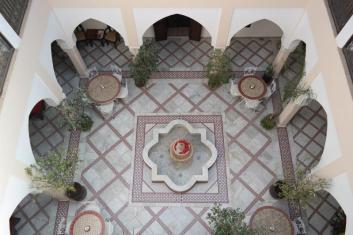 Innenhof/courtyard