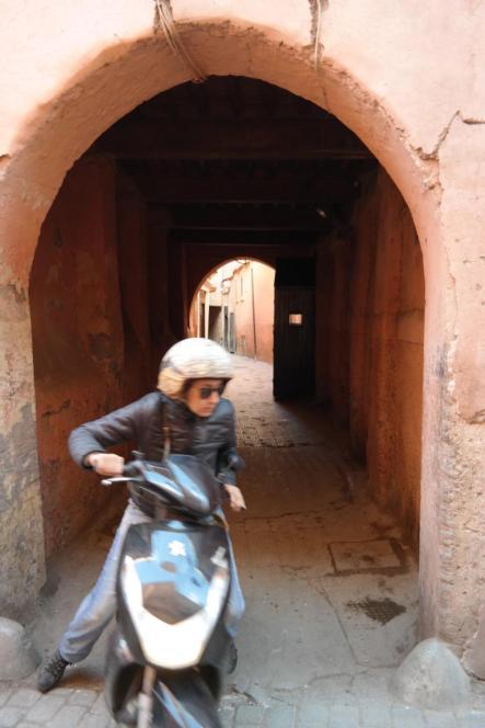 Ein typischer Anblick in der Medina - also Augen auf!