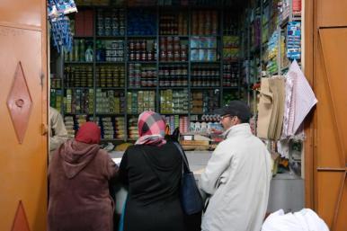 Lädchen in unserer Nähe, Rue de Bab Doukkala