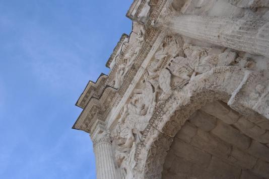 Glanum, arch