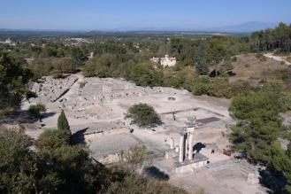 Ancient city of Glanum