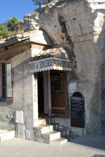 Bakery on the rocks at Baux
