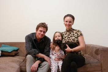 Adrienn and her lovely family.