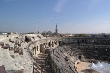 Amphitheatre of Nimes.