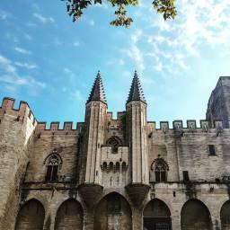 Avignon, Palais des Papes.