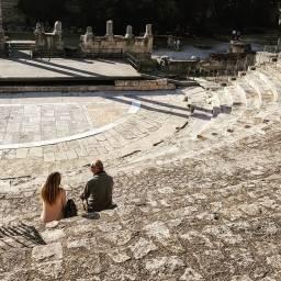 Arles, Roman theatre.
