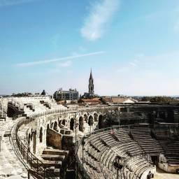 Nimes, amphitheatre.