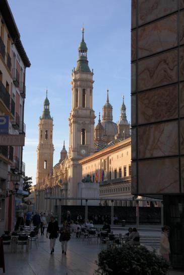 Basilica de Nuestra Senora del Pilar.