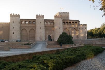 Palacio de la Aljafería.