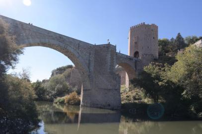 Toledo, Alcántara bridge.