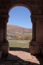 Tiermes, Romanesque chapel.