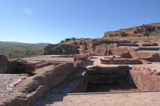 Tiermes, Roman house.