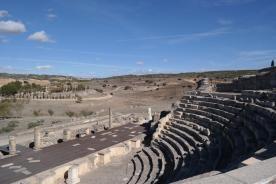 Segobriga, theatre.