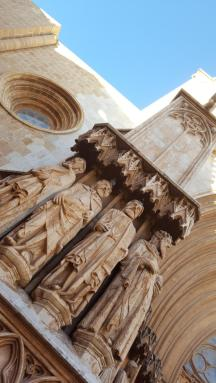 Cathedral, facade.