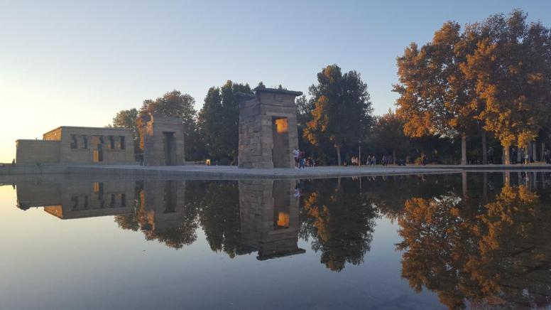 Egyptian Temple of Debod.