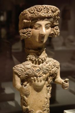 Dama de Ibiza, 4th-3rd century BC.