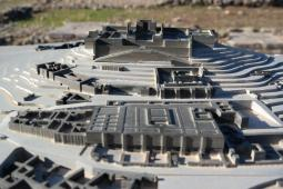 Munigua, city model.