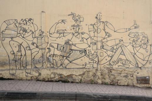 Tanger, streetart.