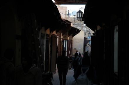 Meknes, medina.