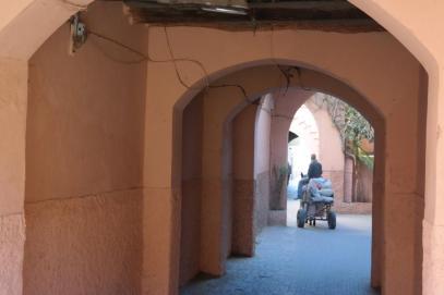 Marrakesh, medina.