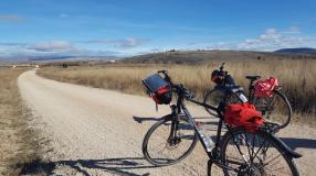 Cycling to Numantia.