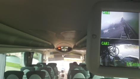 Bus, video surveillance.
