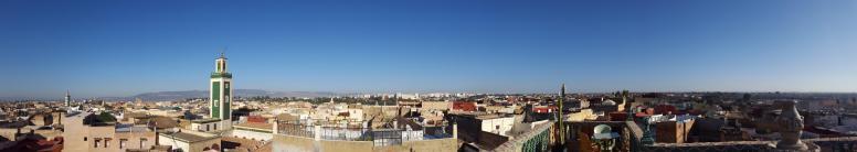 Meknes, view from Riad Malaka.