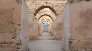 Meknes, royal stables.