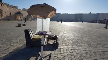 Meknes, Lahdim square.