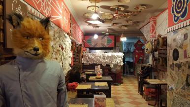 """Fox Art Food""."