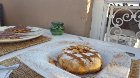 Chicken pastilla (Marrakesh).