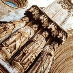 Tarragona, cathedral.