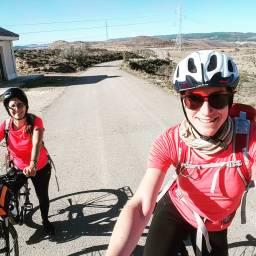 Biking to Bilbilis.