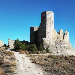 Calatayud, islamic castle.