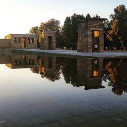 Madrid, Temple of Debod.