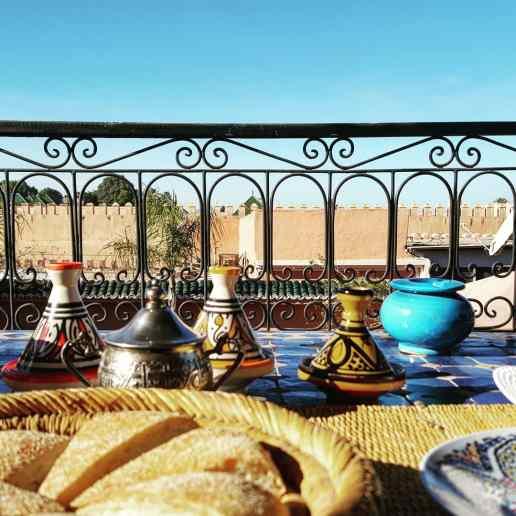Marrakesh, Riad Dar Loula.