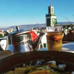 Meknes, Riad Malaka.