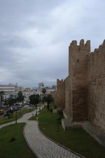 Sousse, medina, outer wall.