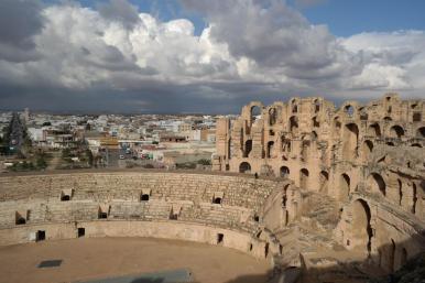 El Djem, amphitheatre.