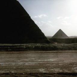 Giza, pyramids.