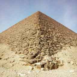 Sakkara, Red Pyramid.
