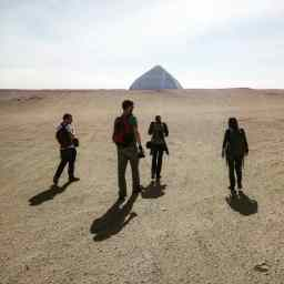Sakkara, Bent Pyramid.