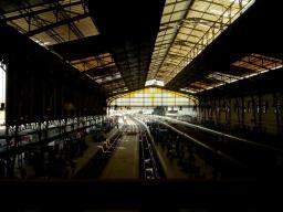 Cairo, Ramses train station.