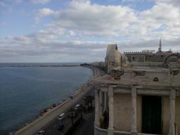 Alexandria, corniche.
