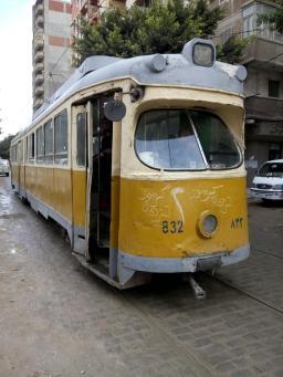 Alexandria., tram.