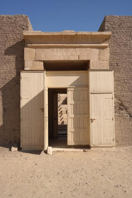 Sakkara, grave entrance.