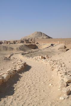 Sakkara, Unas pyramid.